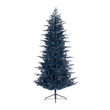 Frosted Arctic Pine Christmas Tree - Blue