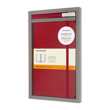 Bundle Notebook & Pen Set - Red
