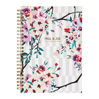 A5 Notebook - Stripe Bouquet