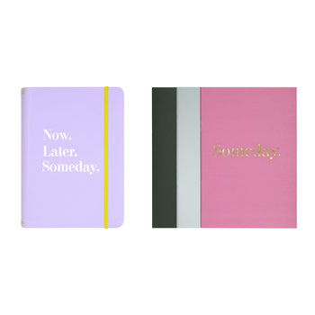 Colourblock Notebook - Set of 3