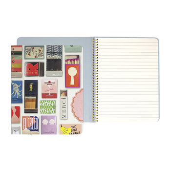 Matchbook Concealed Spiral Notebook