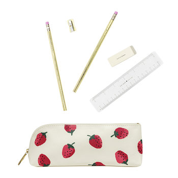 Strawberries Pencil Case