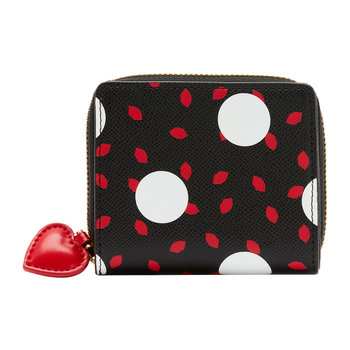 Polka Dot Lips Portia Wallet