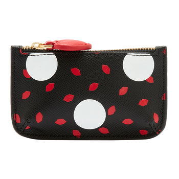 Polka Dot Lips Frankie Key Pouch
