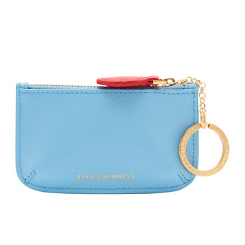 Pop Out Lip Frankie Key Pouch - Sky Blue