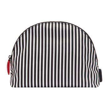 Heart & Stripes Crescent Pouch