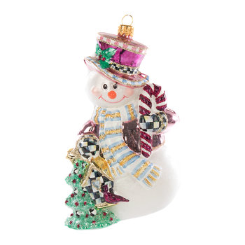 Home Sweet Snowman Tree Decoration