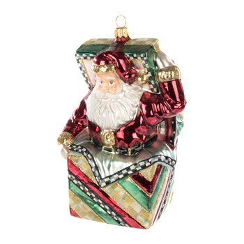 Jack in the Box Santa Tree Decoration