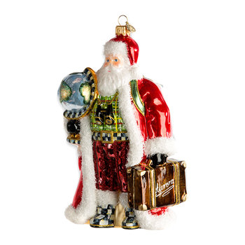 Globetrotter Santa Tree Decoration