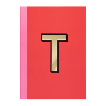 A5 Softcover Notebook - T