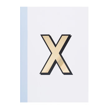 A5 Softcover Notebook - X