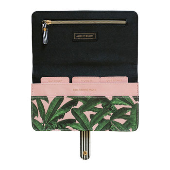 Banana Leaf Travel Wallet