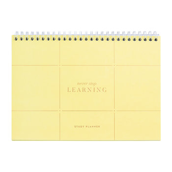 Less Is More B5 Spiral Study Planner
