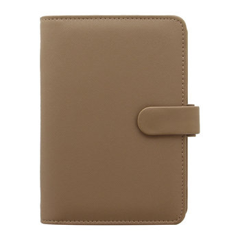 Personal Saffiano Notebook - Fawn
