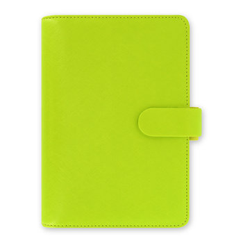 Personal Saffiano Notebook - Pear