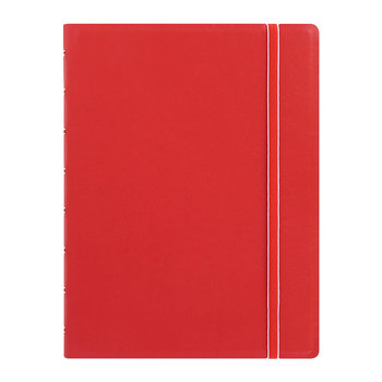 A5 Classic Ruled Notebook - Red