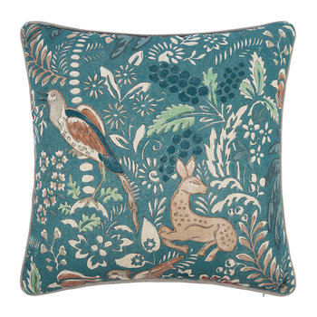 Fantasia Cushion - 45x45cm - Teal