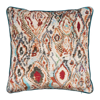 Paint Box Pillow - Teal/Spice - 45x45cm