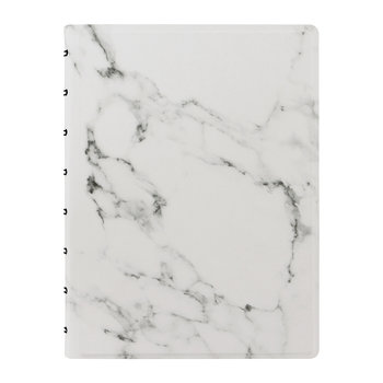 A5 Patterns Notebook - Marble