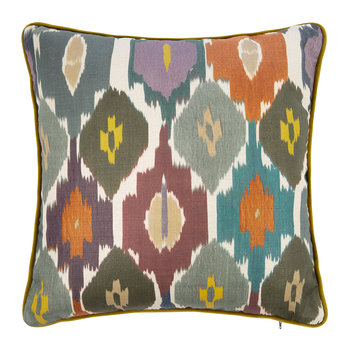 Town House Pillow - Multi - 45x45cm