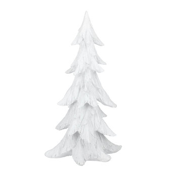 Frosted Tree Ornament - White