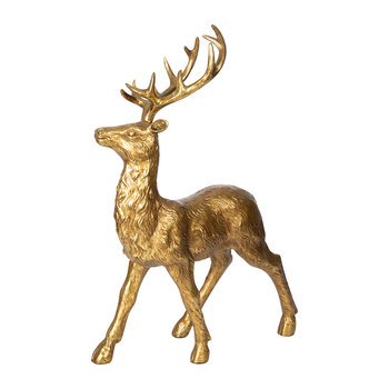 Reindeer Ornament - Gold