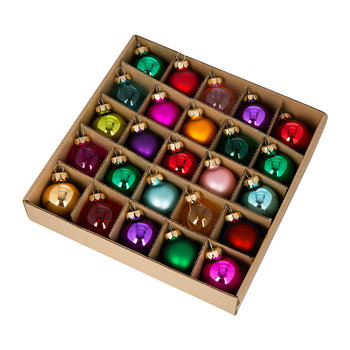 Multicolour Bauble - Set of 25
