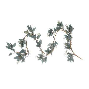 Eucalyptus and Leaf Garland