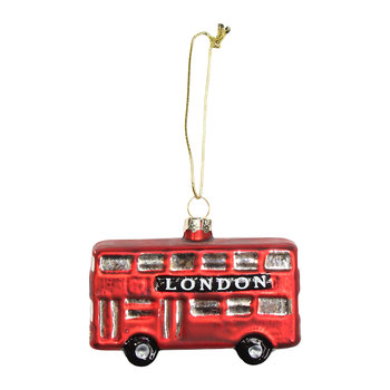 London Bus Tree Decoration