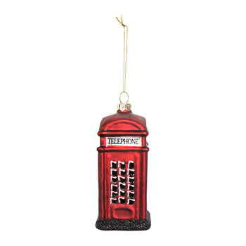 Telephone Box Tree Decoration
