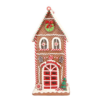 LED Gingerbread House Ornament