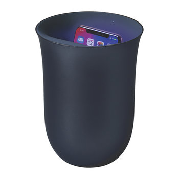 Oblio Wireless Charging Station & UV Sanitiser - Dark Blue