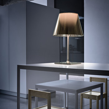KTribe T Table Lamp with Dimmer - Polished Bronze - T2