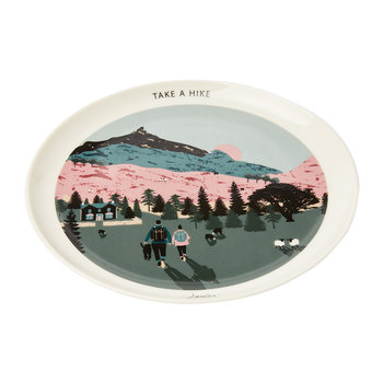 Kitchen Side Plate - Ramble In The Country