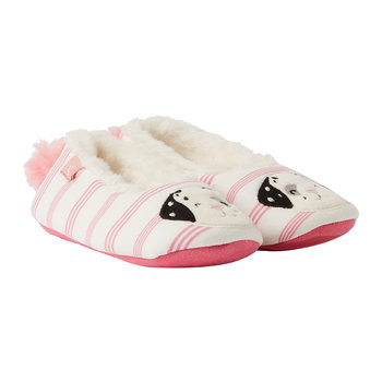 Dreama Character Slipper - Pink Dog - Large