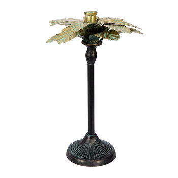 Magnolia Candle Holder - Gold