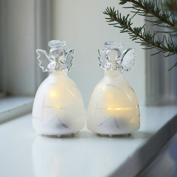 Frozen Angels Decorative Light - Set of 2