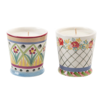 Taylor Scented Candle - Set of 2 - Floral
