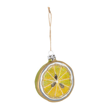 Sliced Lime Tree Decoration