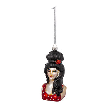 Amy Winehouse Tree Decoration