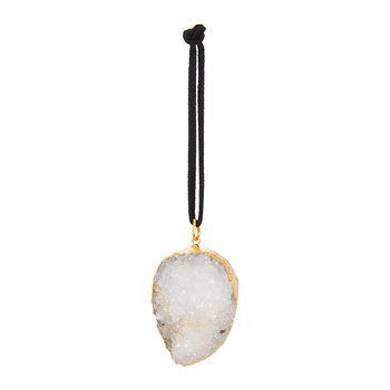 Guilded Quartz Tree Decoration