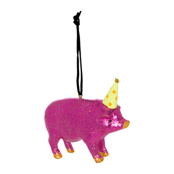 Lucky Pig Tree Decoration - Set of 3