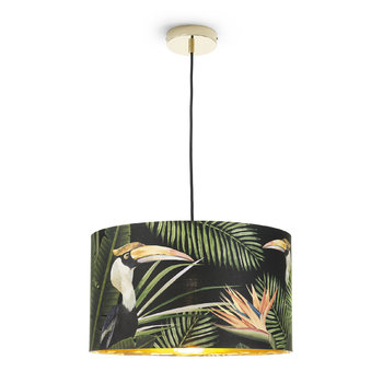 Birds of Paradise Drum Ceiling Light