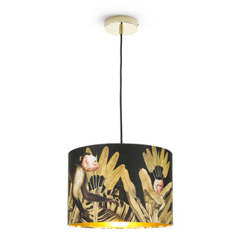 Monkey Drum Ceiling Light