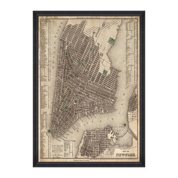 City Of New York Print
