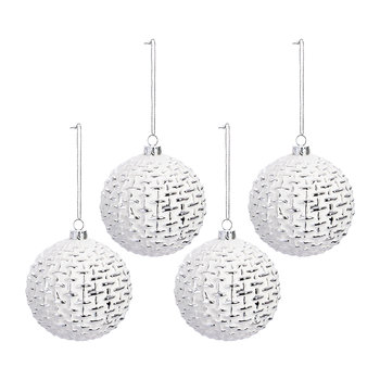 Knit Bauble - Set of 4
