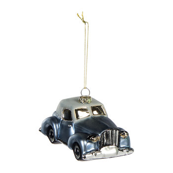 Old Car Tree Decoration - Blue