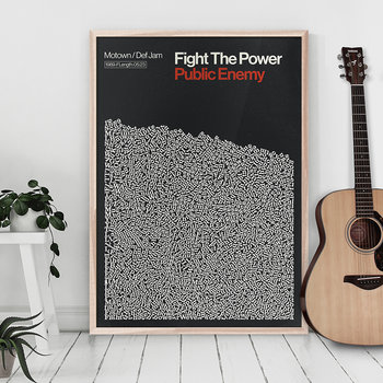 Fight The Power Print - A2