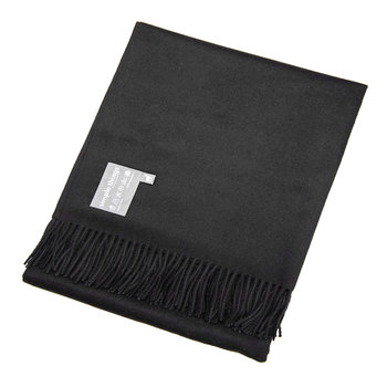 Baby Alpaca Throw - Black