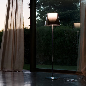 KTribe F Floor Lamp with Dimmer - Aliminized Bronze